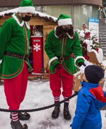 Entrega de la carta al Pare Noel