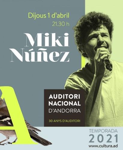 CONCIERTO MIKI NUÑEZ