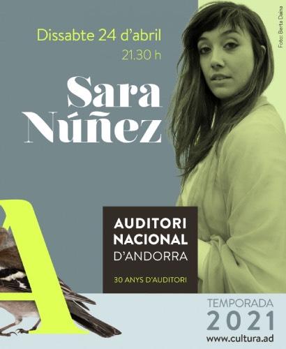 CONCIERTO SARA NUÑEZ