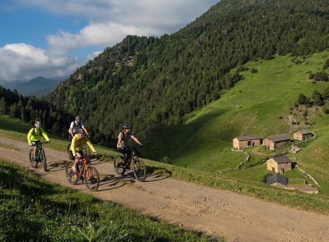 bicicleta de montaña btt en Andorra